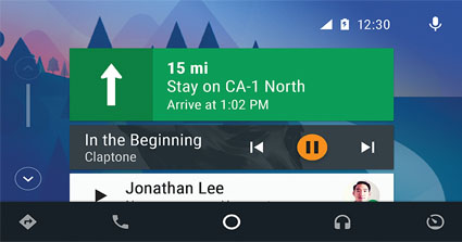 Android Auto JVC KW-M745DBT